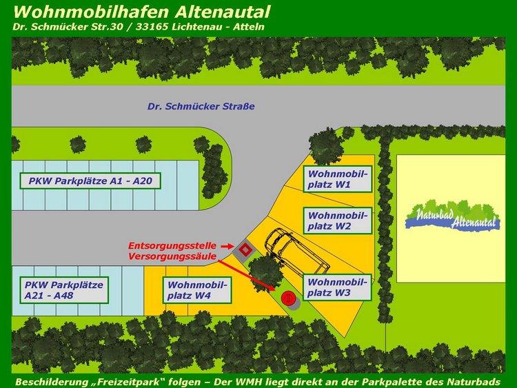 Naturbad Altenautal - WMH_Stellplatzplan